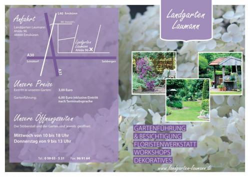 Landgarten Flyer