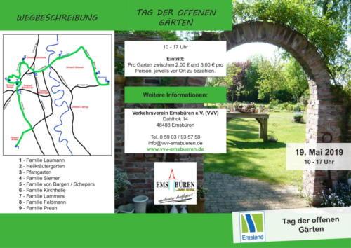 Tag der offenen Gärten 1