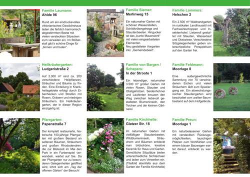 Tag der offenen Gärten 2